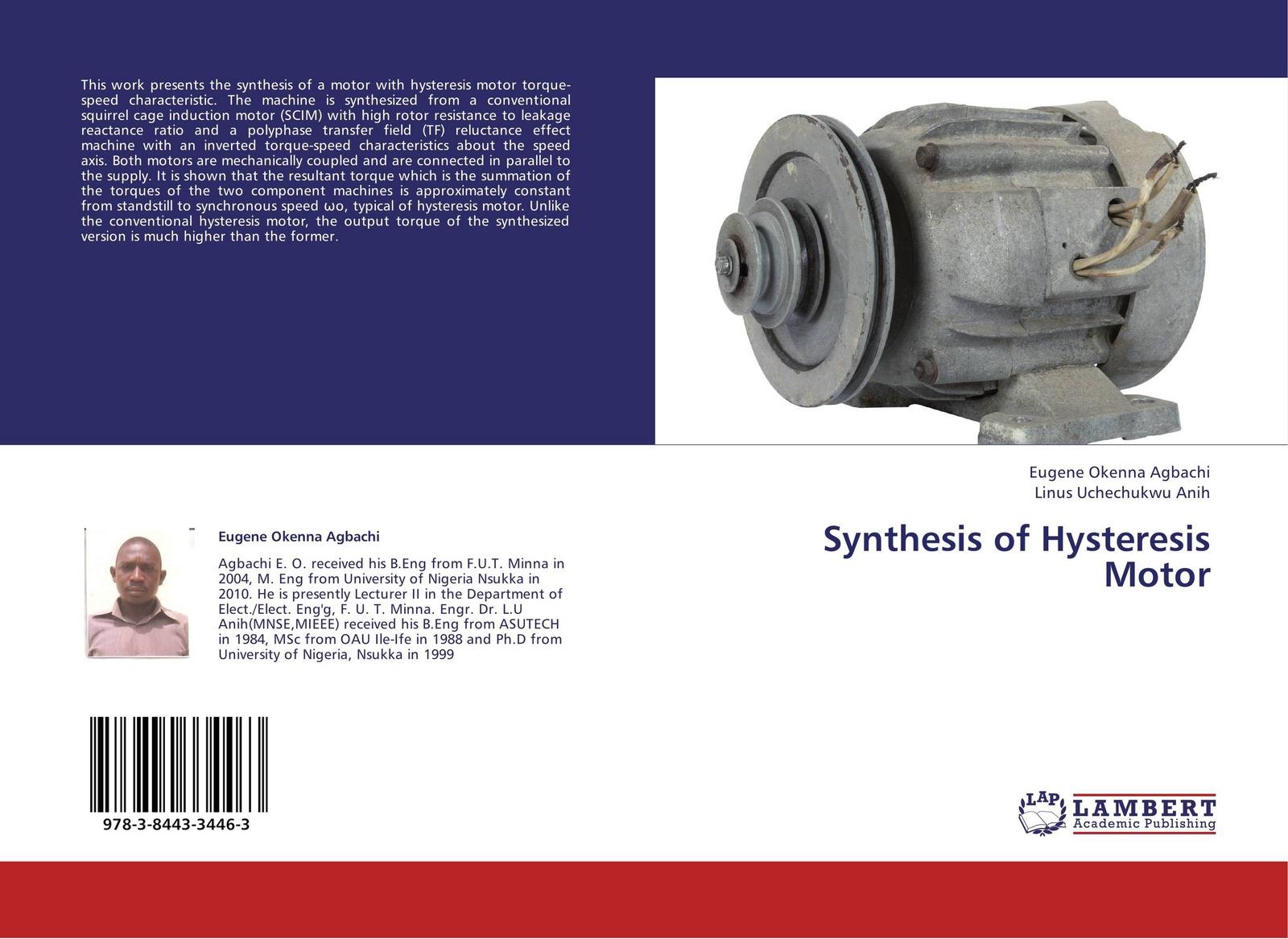 цены на Eugene Okenna Agbachi and Linus Uchechukwu Anih Synthesis of Hysteresis Motor  в интернет-магазинах