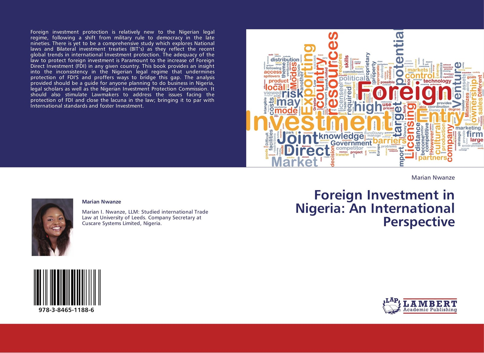 Marian Nwanze Foreign Investment in Nigeria: An International Perspective marital rape an impediment to legal protection