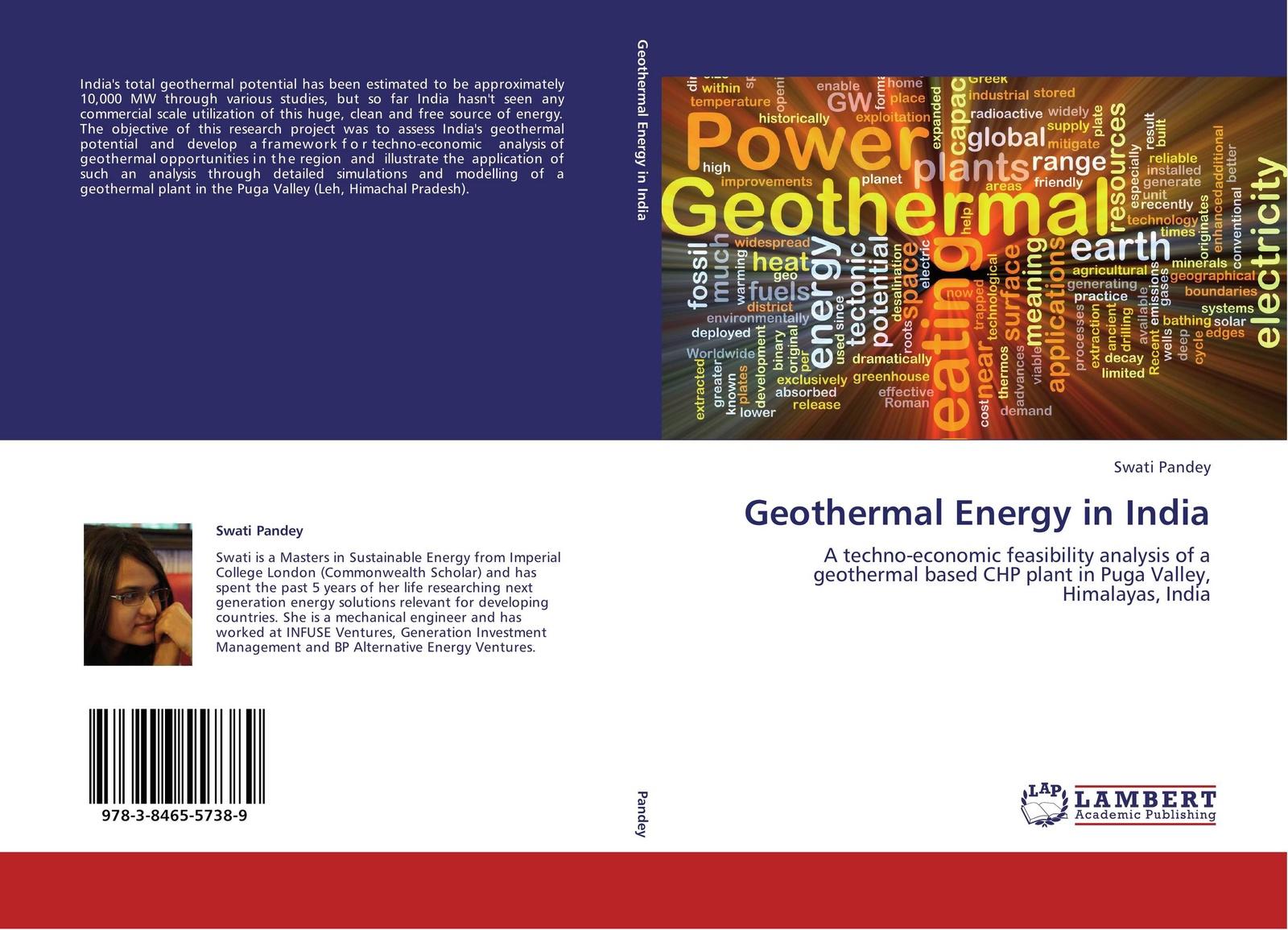 Swati Pandey Geothermal Energy in India цена в Москве и Питере