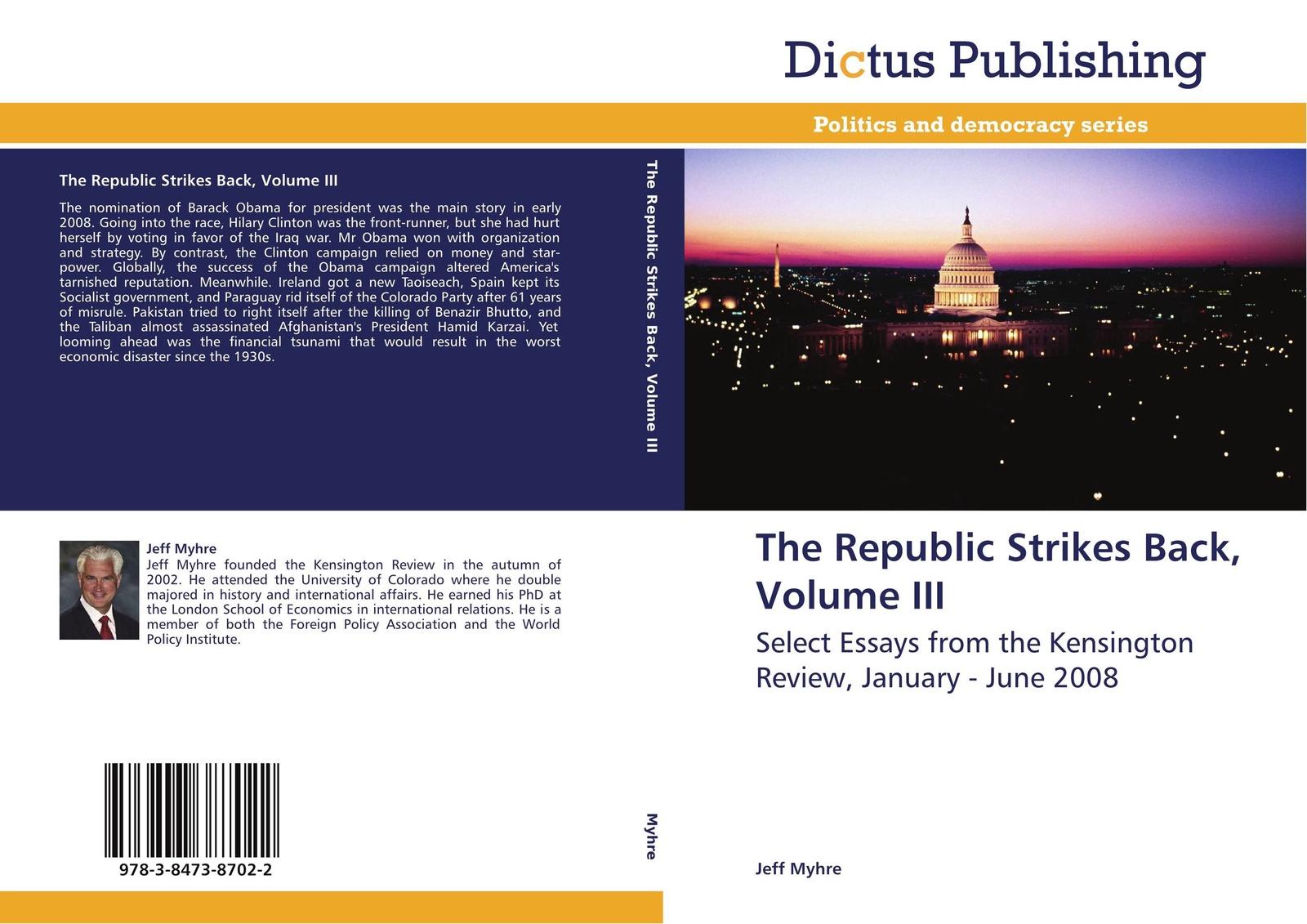 Фото - Jeff Myhre The Republic Strikes Back, Volume III contrast lace keyhole back blouse