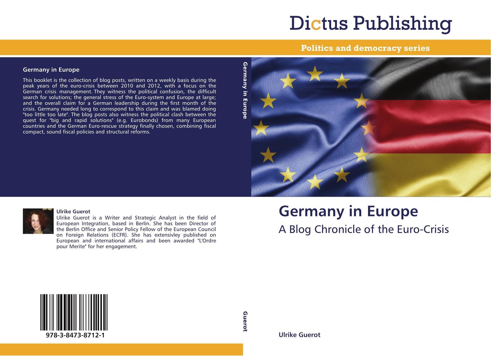 Ulrike Guerot Germany in Europe цена в Москве и Питере
