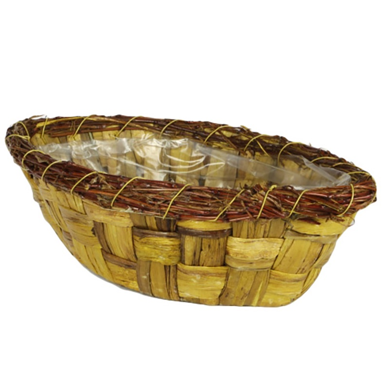 Корзина для цветов FLORS 14MA308 корзина из рисовой соломы louna малая модель высота 48 см