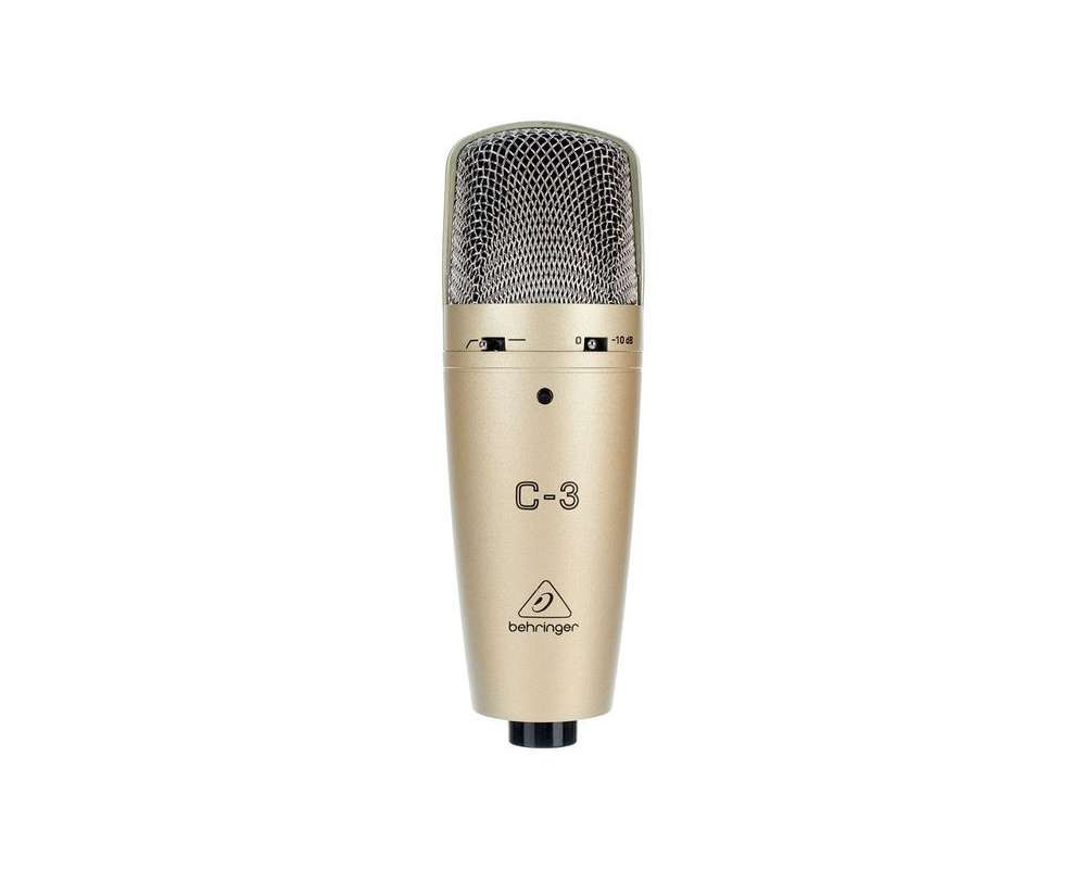 Behringer C-3 студийный конденсаторный микрофон студийный микрофон behringer c 2 studio condenser microphones