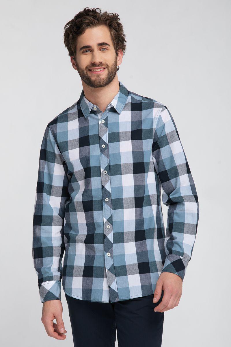 цена Рубашка MUSTANG Clemens KC Check онлайн в 2017 году