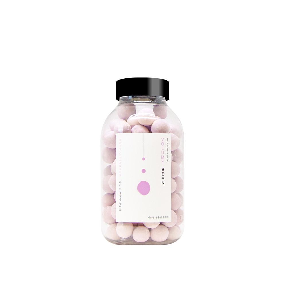 Увлажняющие, питающие и очищающие шарики для увеличения объема груди и бедер с запатентованным компонентом Volufiline и экстрактом растений Volume Bean MARCHEN