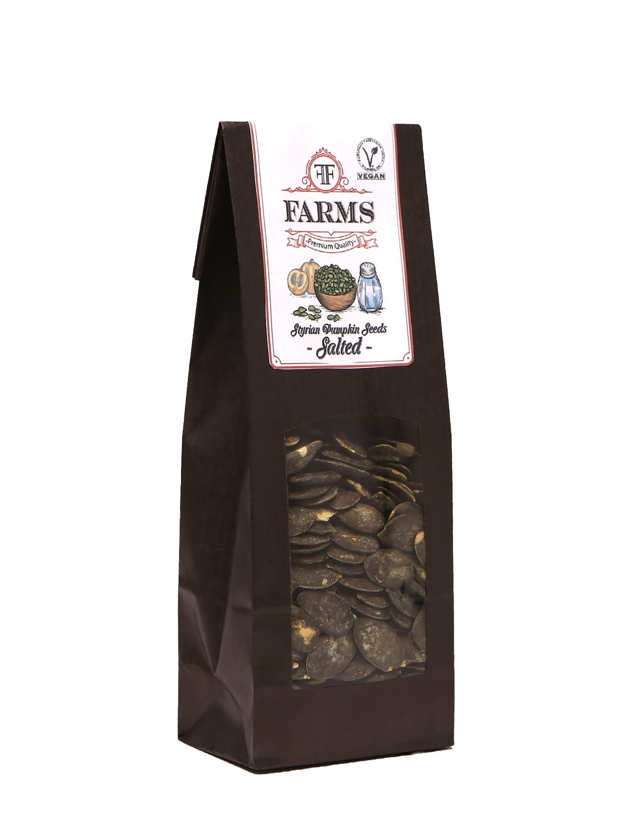 Штирийские тыквенные семечки соленые FF Farms, 100 гр