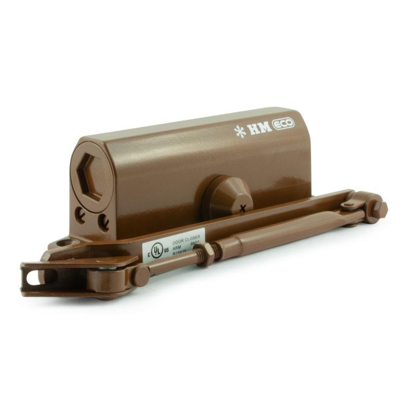 Доводчик 520 ЕСО (25-70 кг) (коричневый) морозостойкий НОРА-М цена