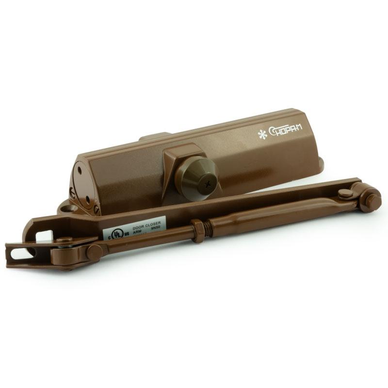 Доводчик 4ST (25-120 кг) (коричневый) морозостойкий НОРА-М цена