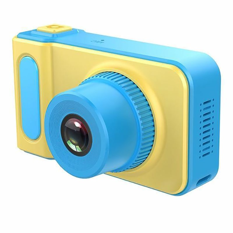 Фотоаппарат ZUP Kids Photo Video Camera, Голубой, 1857