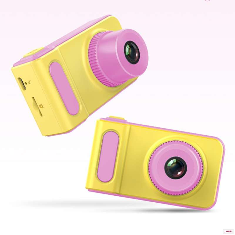 Фотоаппарат ZUP Kids Photo Video Camera, Розовый, 1858