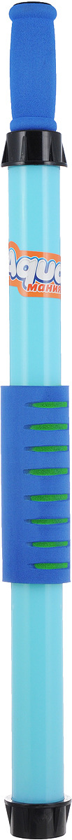 Игрушечное оружие 1TOY Аквамания Водяная помпа EVA накладка, Т59469, 70 х 5,5 см