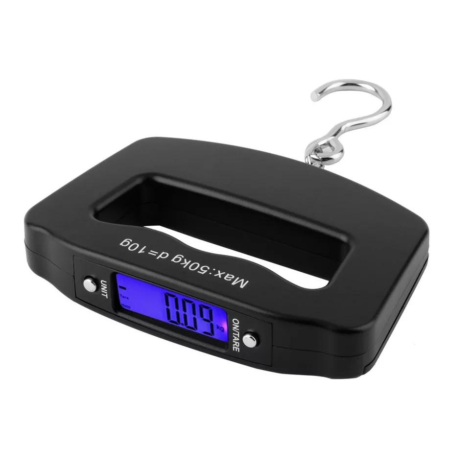 Безмен весы электронные портативные для багажа KAMEEL, 50 кг. цена