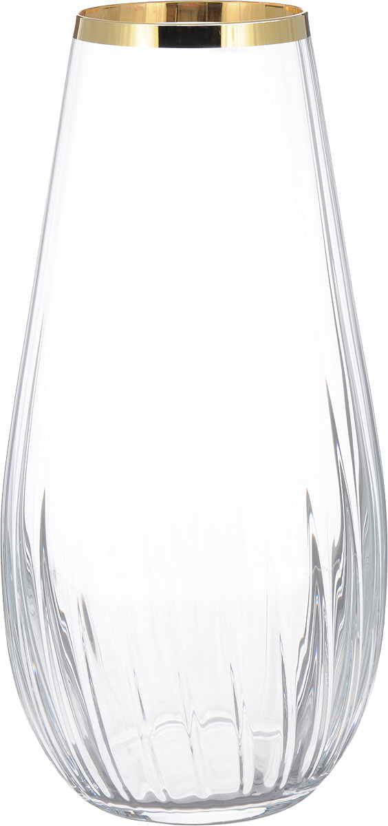Ваза Bohemia Crystal Waterfall, 674-227, прозрачный, высота 30.5 см bohemia ivele crystal бра bohemia ivele crystal 1610 3 gb