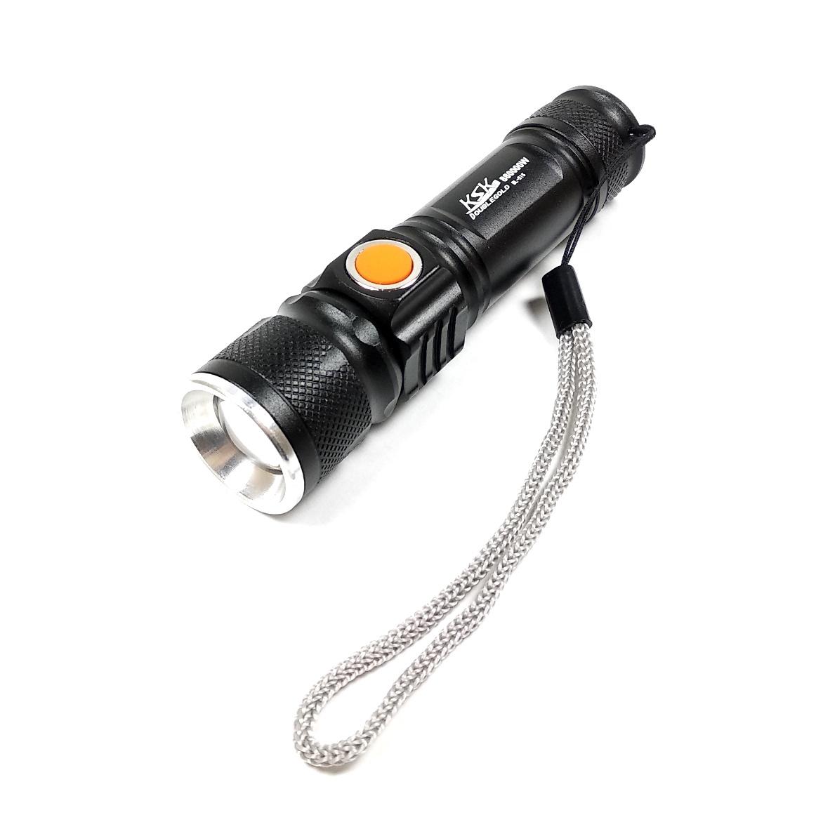 цена на Фонарь аккумуляторный ручной светодиодный с зарядкой от сети KAMEEL BL-515