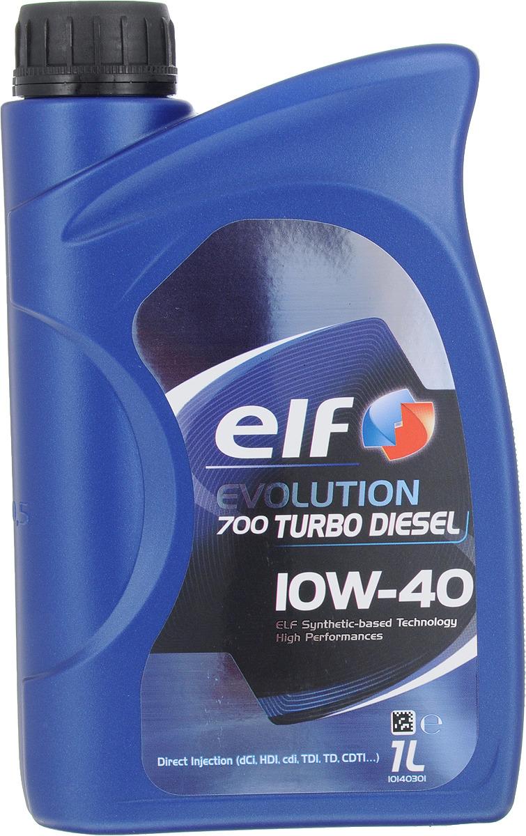 Моторное масло Elf Evolution 700 Td 10W40 (Sn), полусинтетическое, 1 л цена 2017