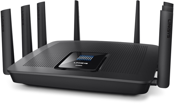Wi-Fi роутер Linksys EA9500 Max-Stream AC5400 MU-MIMO Gigabit Wi-Fi Router (EA9500-EU)