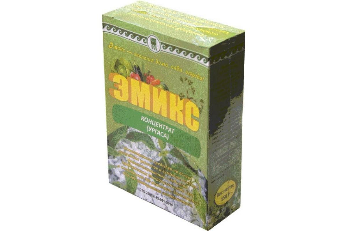 Подкормка для растений сухая Эмикс, порошок 150 г