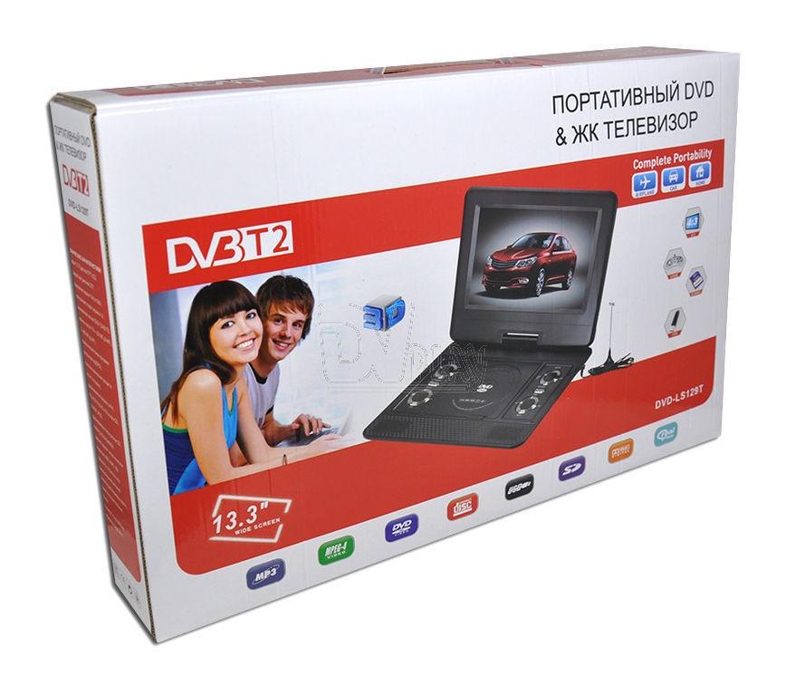 Телевизор с DVD-плеером Eplutus DVD-LS129T 13. 3