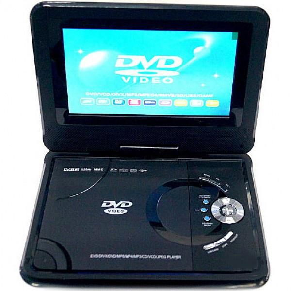 Портативный DVD и ЖК телевизор Eplutus DVD-LS718T dvd плеер sony dvp sr760hp