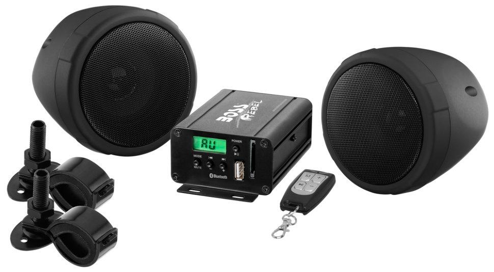 "Аудиосистема BOSS Audio Marine MCBK520b (2 динамика 3"", 600 Вт. USB/SD/FM, Bluetooth)"