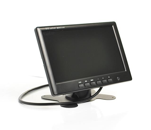 Фото - Автомобильный монитор 7 для установки на приборную панель AVIS AVS0704BM видео