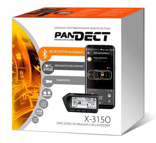 Автосигнализация PANDECT X-3150 BT автосигнализация pandect x 1000bt