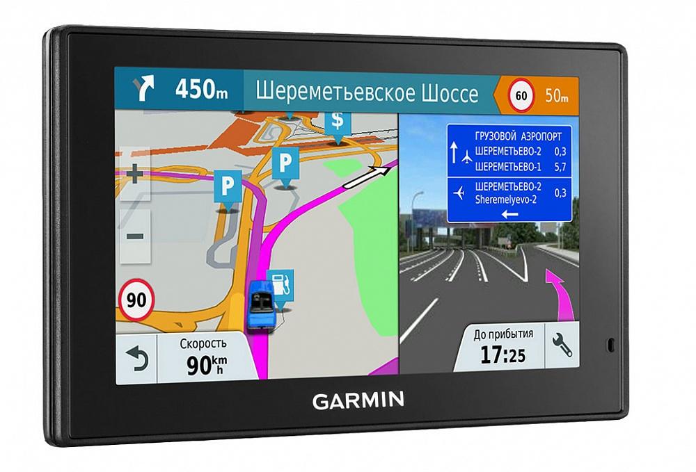 Автомобильный навигатор Garmin DriveSmart 51 RUS LMT garmin drivesmart 60 lm europe