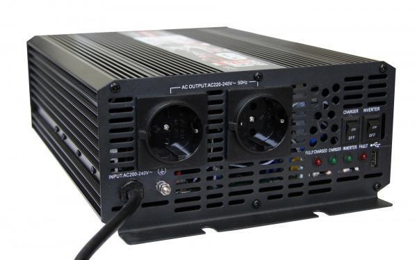 Преобразователь напряжения с ИБП и ЗУ AcmePower AP-UPS1000/12