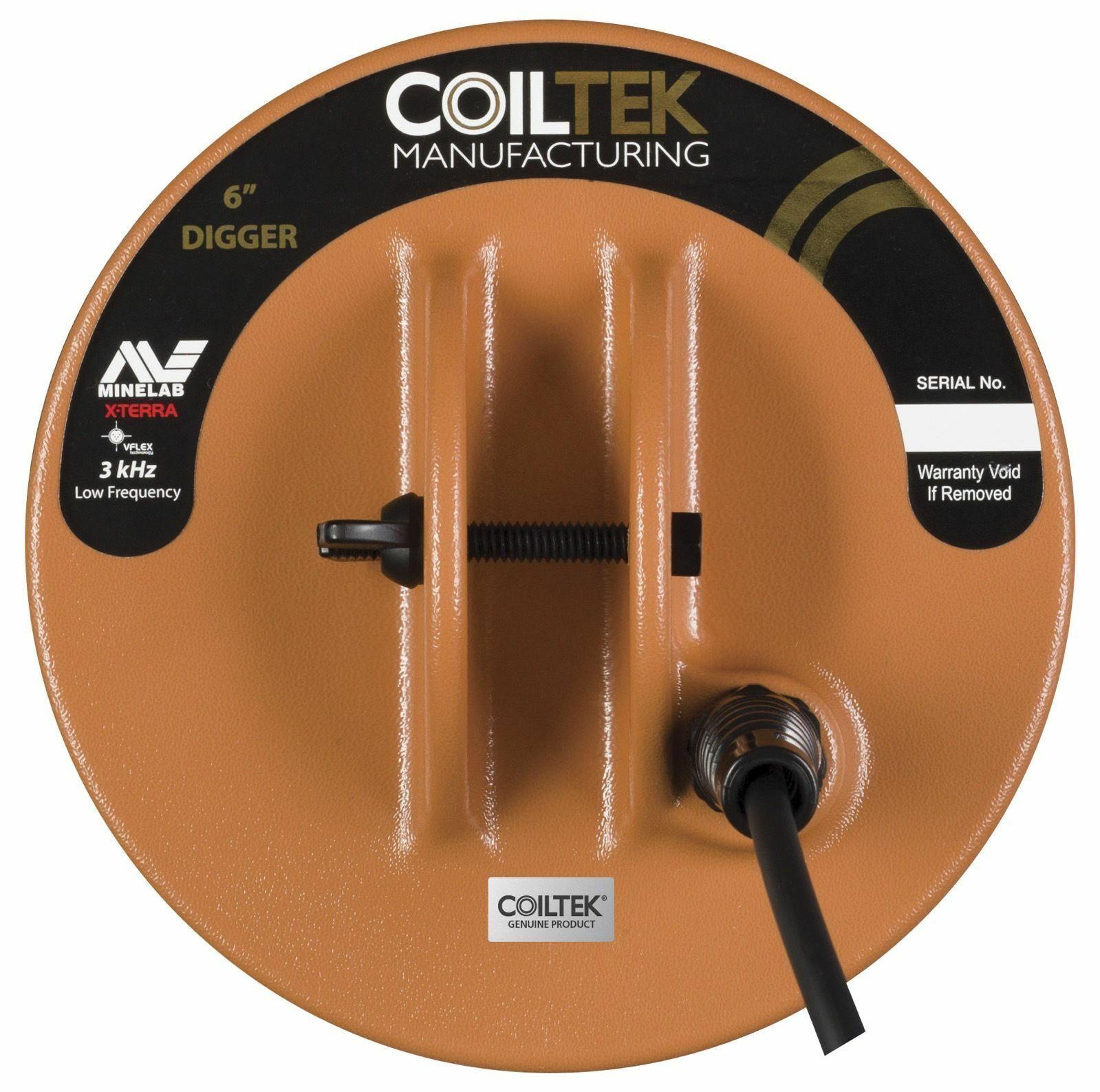 Катушка Coiltek 6 для серии X-Terra 3 кГц катушка minelab 9 mono m 7 5 кгц для x terra