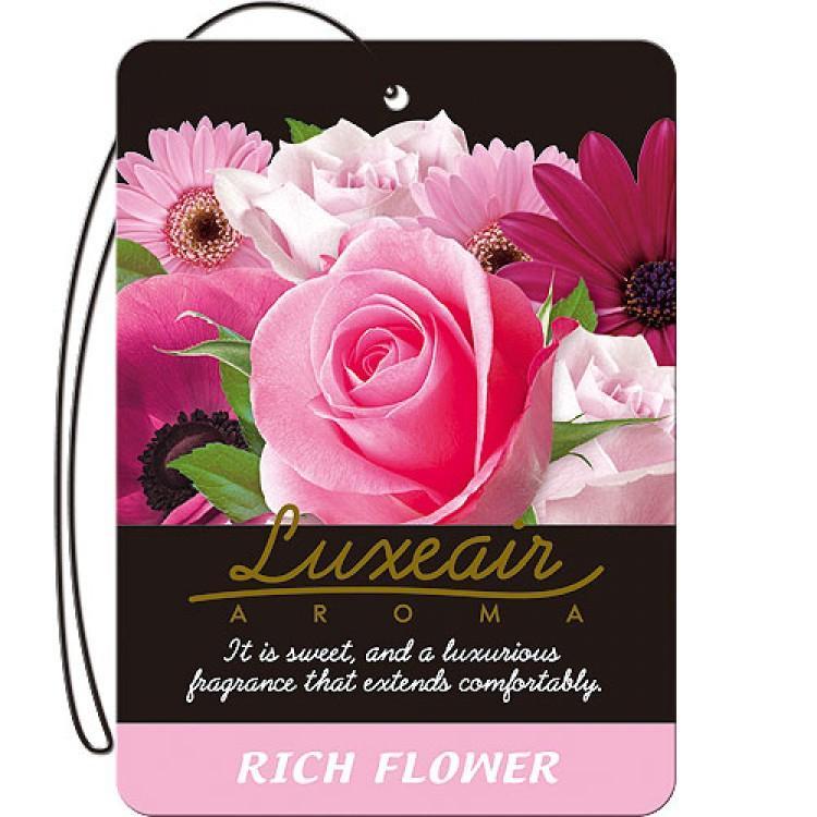 Картонный освежитель воздуха для автомобиля CARALL LUXEAIR 4114 (rich flower) цена