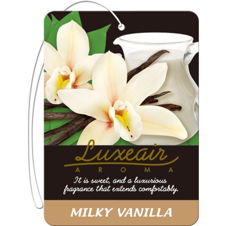Картонный освежитель воздуха для автомобиля CARALL LUXEAIR 4115 (milky vanilla) цена