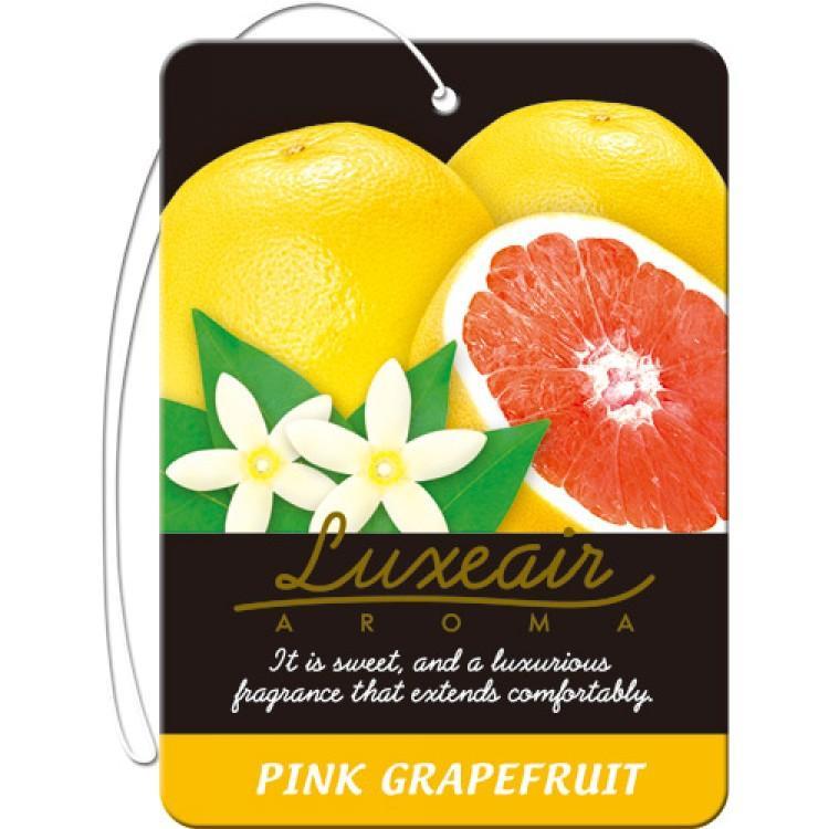 Картонный освежитель воздуха для автомобиля CARALL LUXEAIR 4154 (pink grapefruit) цена