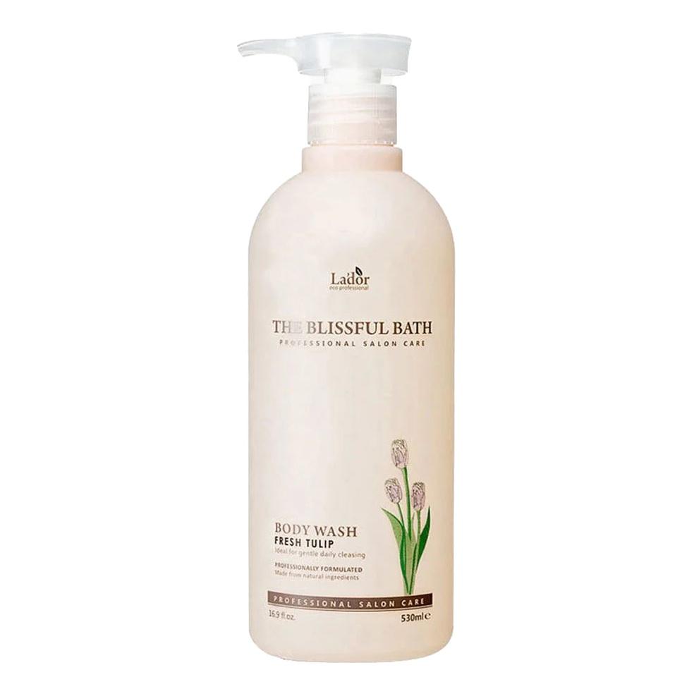 Гель для душа тюльпан Lador The Blissful Bath Body Wash Fresh Tulip, 530 мл