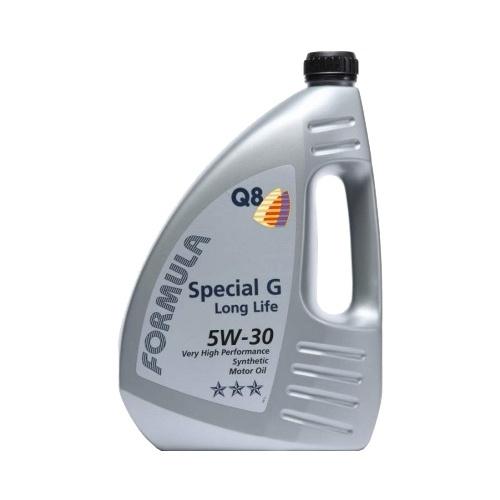 Моторное масло Q8 Formula Special G Long Life 5W-30 4 л