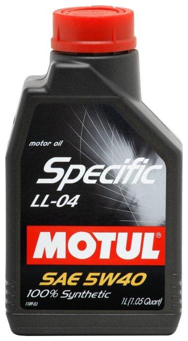 Моторное масло Motul SPECIFIС BMW LL-04 5W-40 1 л