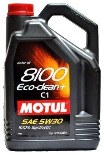 цена на Моторное масло Motul 8100 Eco-clean + 5W-30 5 л