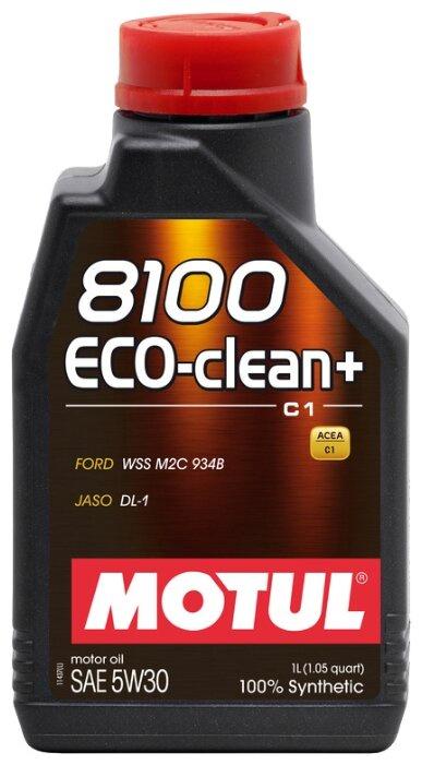 цена на Моторное масло Motul 8100 Eco-clean + 5W-30 1 л