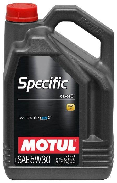 Моторное масло Motul Specific dexos2 5W-30  5 л