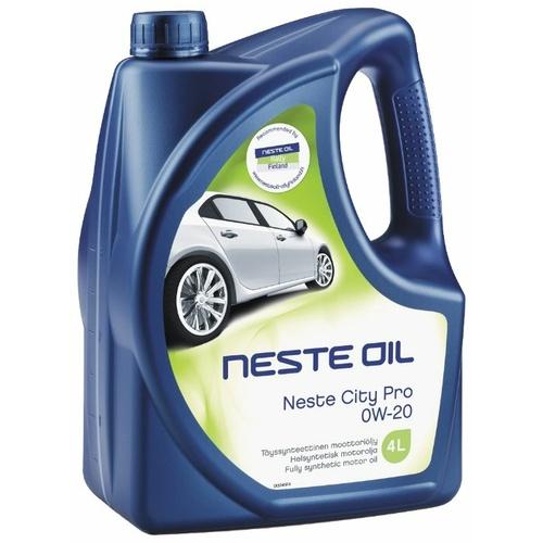 Моторное масло Neste Pro 0W-20 4 л