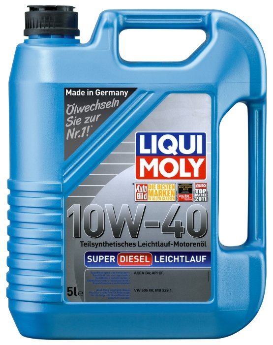 Моторное масло LIQUI MOLY Super Diesel Leichtlauf 10W-40  5 л