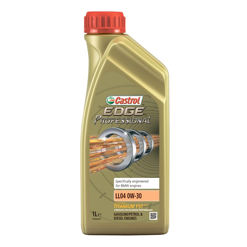 Моторное масло CASTROL EDGE Professional LL04 0W-30 1 л моторное масло castrol edge professional a3 0w 30 1 л