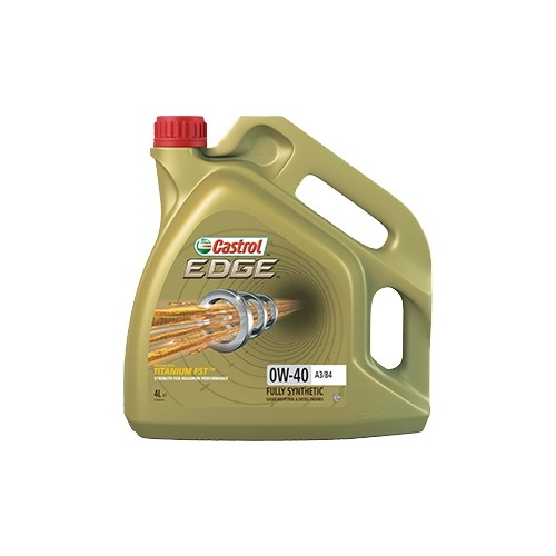 Моторное масло CASTROL EDGE 0W-40 4 л моторное масло castrol edge professional a3 0w 30 1 л