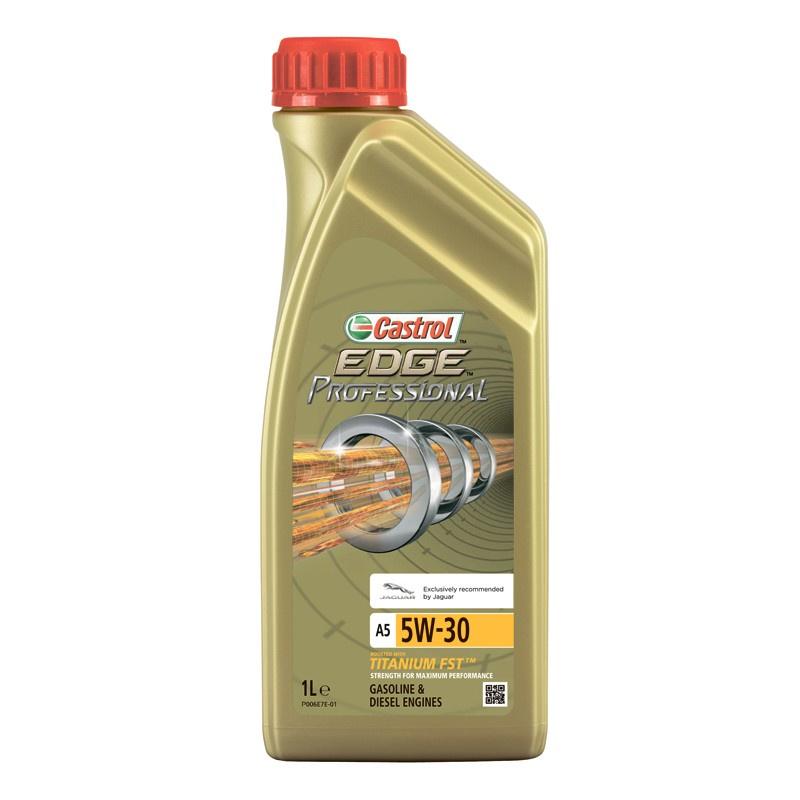 Моторное масло CASTROL EDGE Professional A5 5W-30 1 л (J) моторное дизельное масло castrol enduron plus 5w 30 20 л