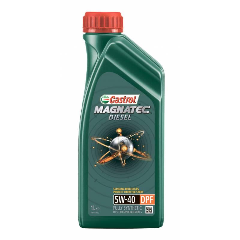 Моторное масло Castrol Magnatec Diesel 5W-40 DPF 1 л моторное дизельное масло castrol enduron plus 5w 30 20 л