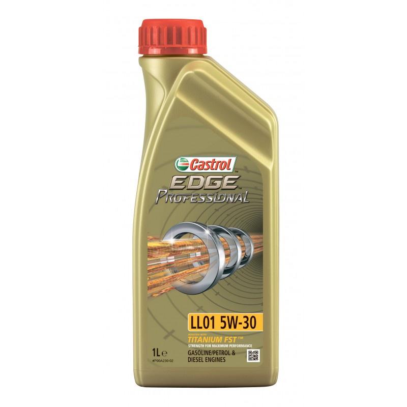 Моторное масло CASTROL EDGE Professional LL01 5W-30 1 л моторное дизельное масло castrol enduron plus 5w 30 20 л
