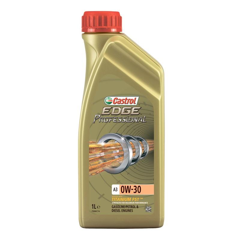 Моторное масло CASTROL EDGE Professional A3 0W-30 1 л моторное масло castrol edge professional a3 0w 30 1 л