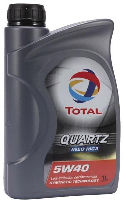 Моторное масло TOTAL Quartz INEO MC3 5W-40 1 л total quartz ineo ecs 5w 30 4 л