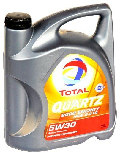 Моторное масло TOTAL QUARTZ 9000 ENERGY HKS 5W-30  5 л