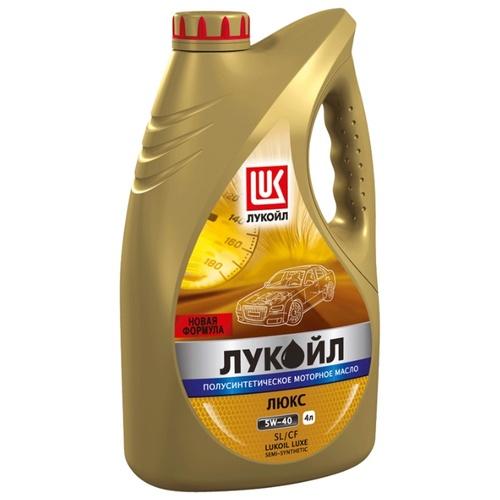 Моторное масло ЛУКОЙЛ ЛЮКС 5W-40 SL/CF 4 л