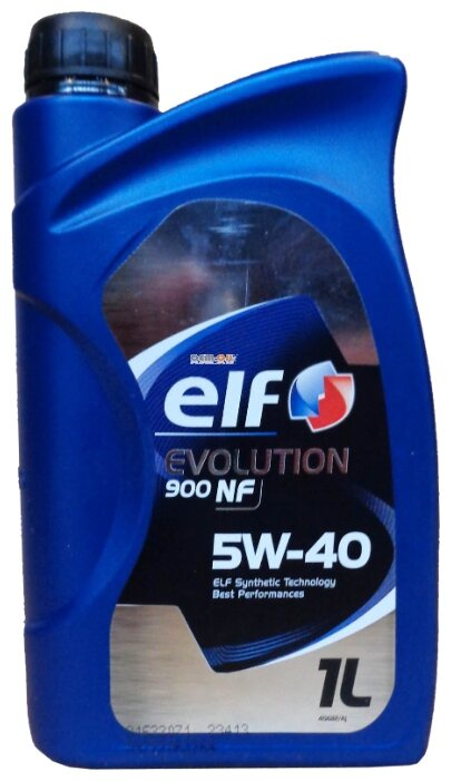 Моторное масло ELF Evolution 900 NF 5W-40 1 л